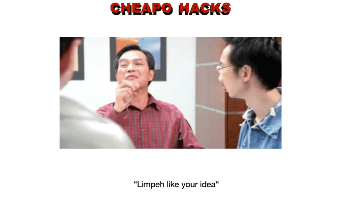must know cheap and good hacks