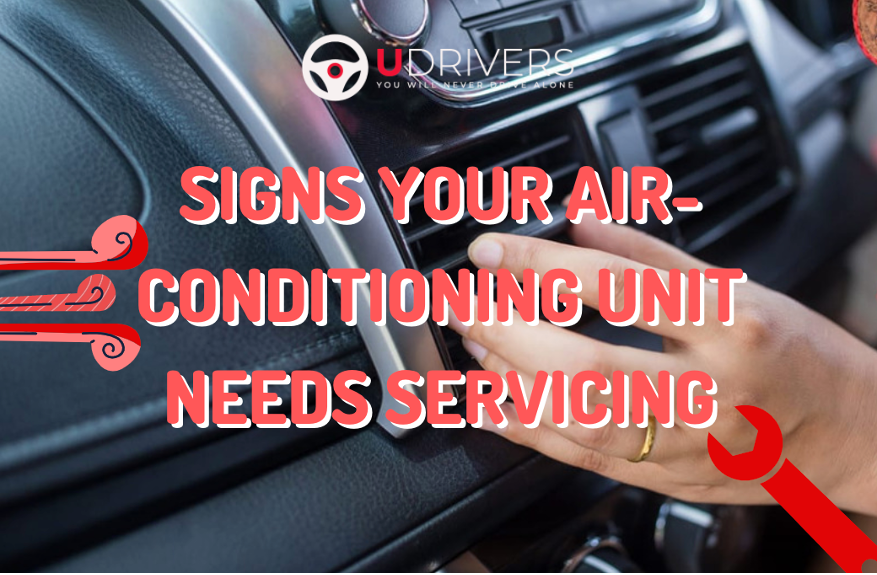 Signs your air-conditioning unit needs servicing
