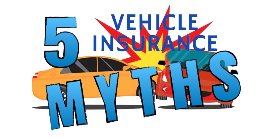5 vehicle insurance myth