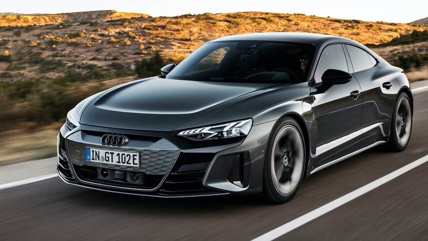 New cars of 2021 – Audi RS E-tron GT